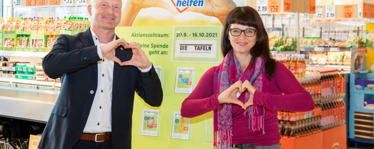 Lidl Österreich startet ab 30. September die bereits fünfte Spendensammelwoche zugunsten armutsbetroffener Menschen.